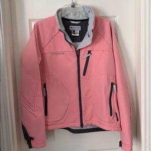 Columbia Pink Titanium Jacket